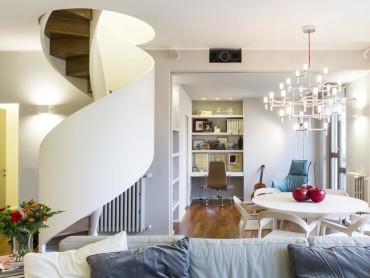 Casa con dependance - Serra- Soggiorno