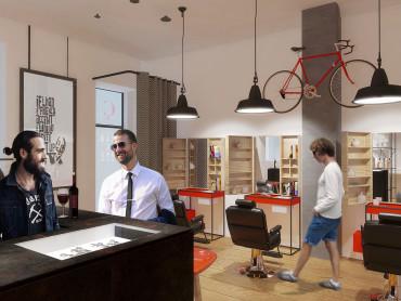 DISEGNOINOPERA - barber shop a Brera